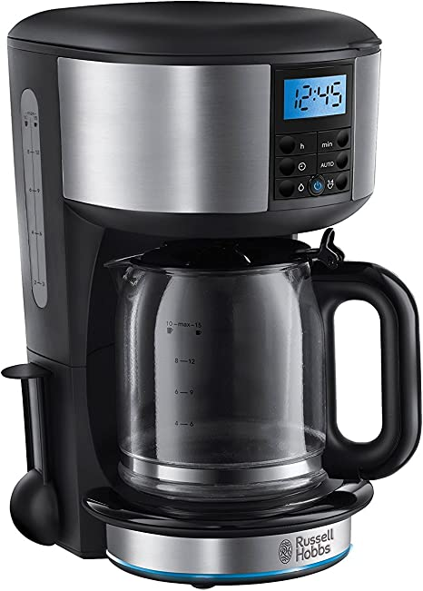 Russell Hobbs 20680 Buckingham Filter Coffee Machine 125 Litre Blacksilver