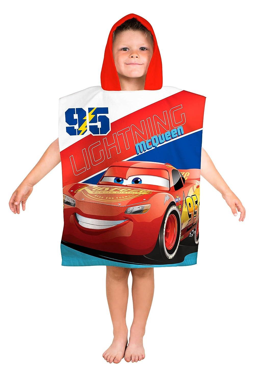 Disney Cars 'Lightning' Kids Poncho Character World DC3LTGTW002UK