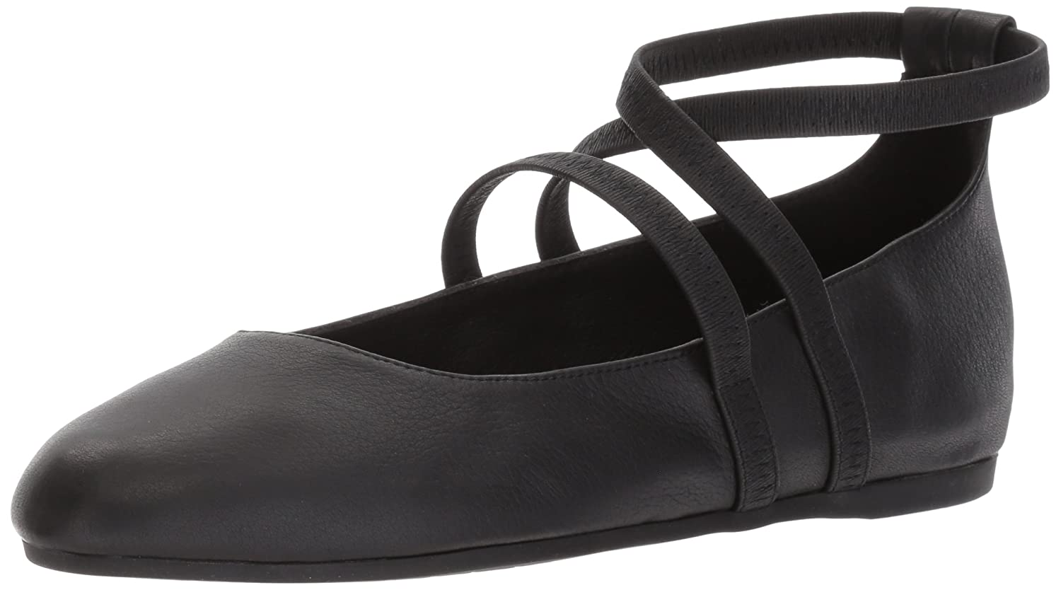 Eileen Fisher Women's 10 Joe Ballet Flat B01N5FWDJG 10 Women's B(M) US|Black 056270