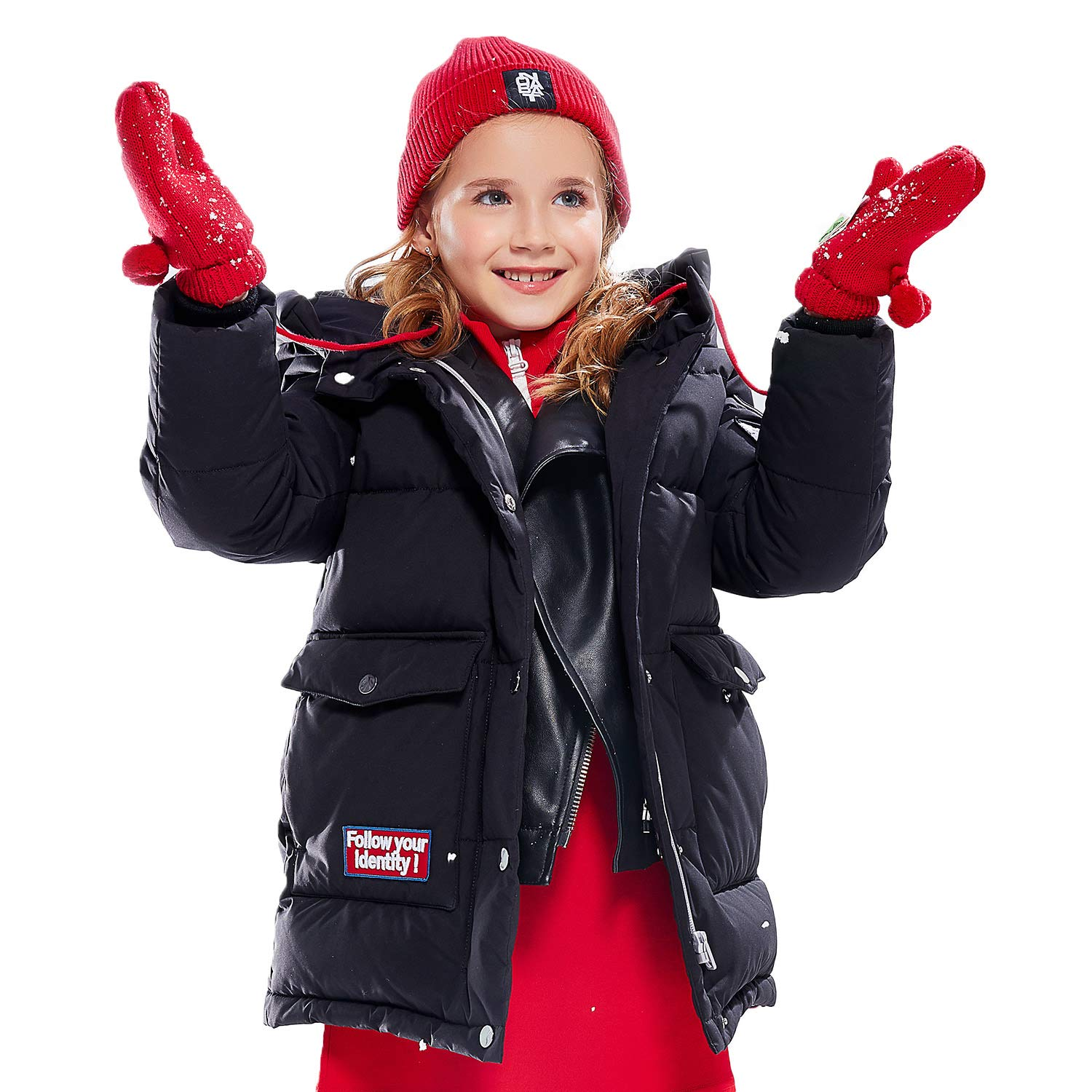 126d8e997 Amazon.com: BOSIDENG Children's 2018 New Winter Down Jacket Kids ...