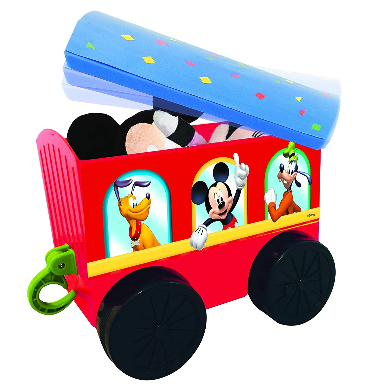 Amazon Com Kiddieland Toys Limited Battery Powered Mickey Choo With