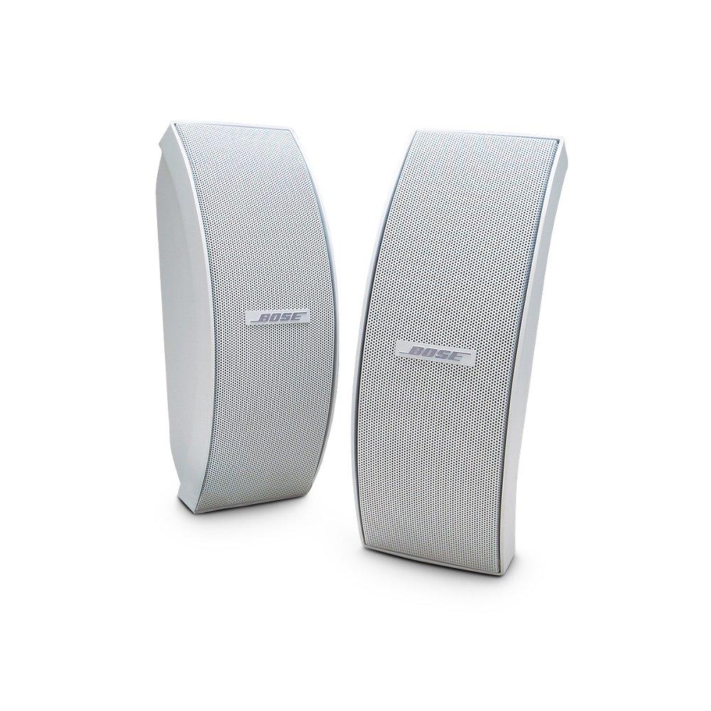 Bose 151 SE Environmental Speakers, Elegant Outdoor Speakers - White