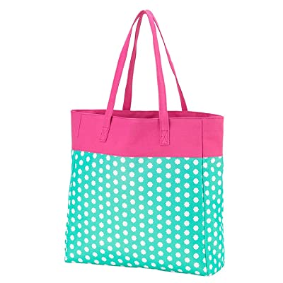 High Fashion Print Tote Bag - Personalization Available
