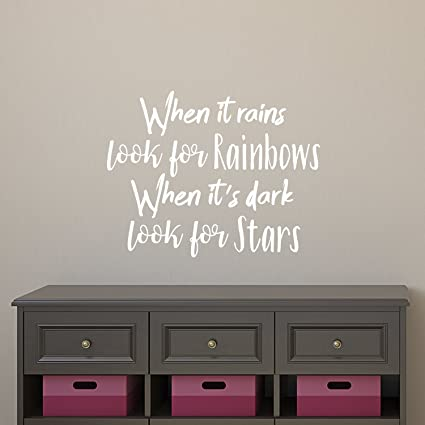 nursery decor vinyl wall art inspirational quotes and saying home