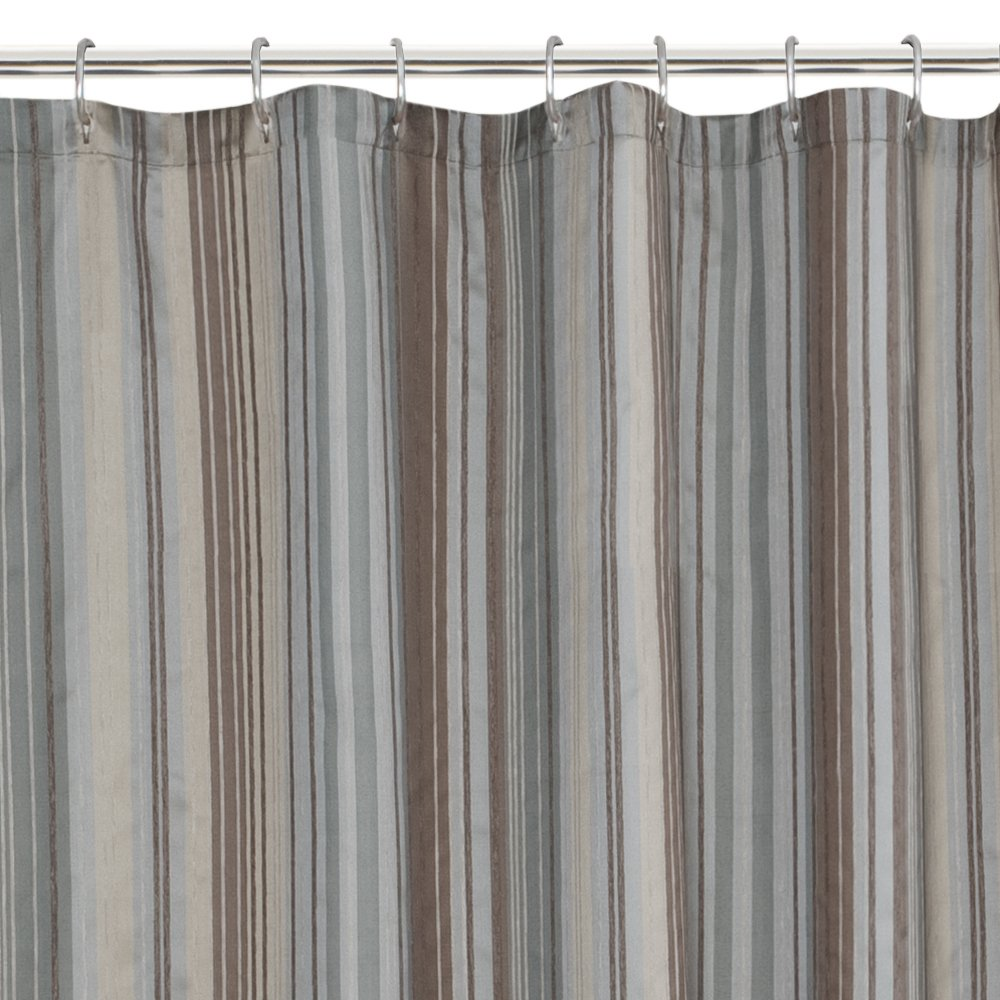 Amazon.com: Maytex Jodie Fabric Shower Curtain: Home & Kitchen