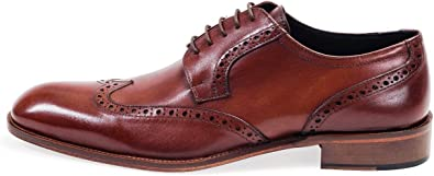 Classic Oxford Brogue Shoes