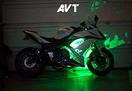 Amazon.com: AVT Ninja 650 Body Glow LED Light Kit 2017-2018 ...