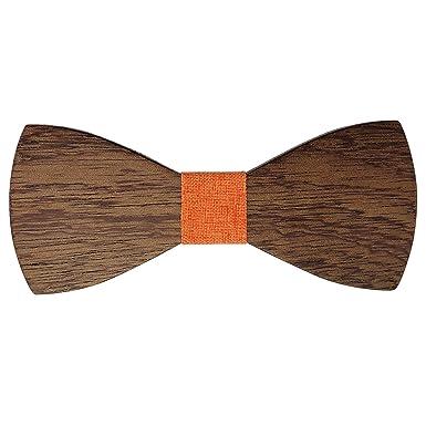 Lelio & friends - Pajarita de madera, hecha a mano, estilo clásico ...