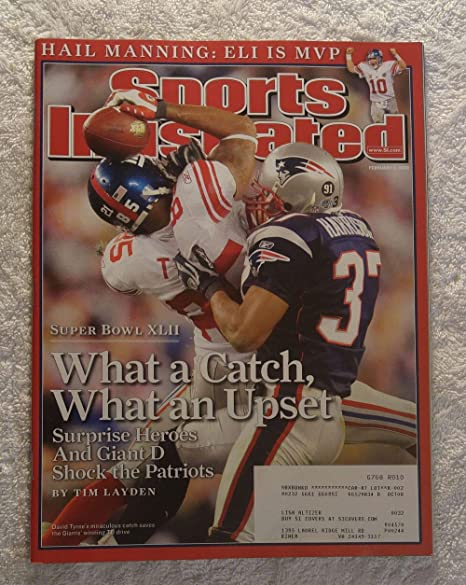 David Tyree - New York Giants - Super Bowl XLII Champions! - Sports  Illustrated - 7032d307b