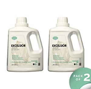 Excelsior SOAPFL3NF-U Liter Laundry Detergent with Eco Bottle, Fragrance Free (2)