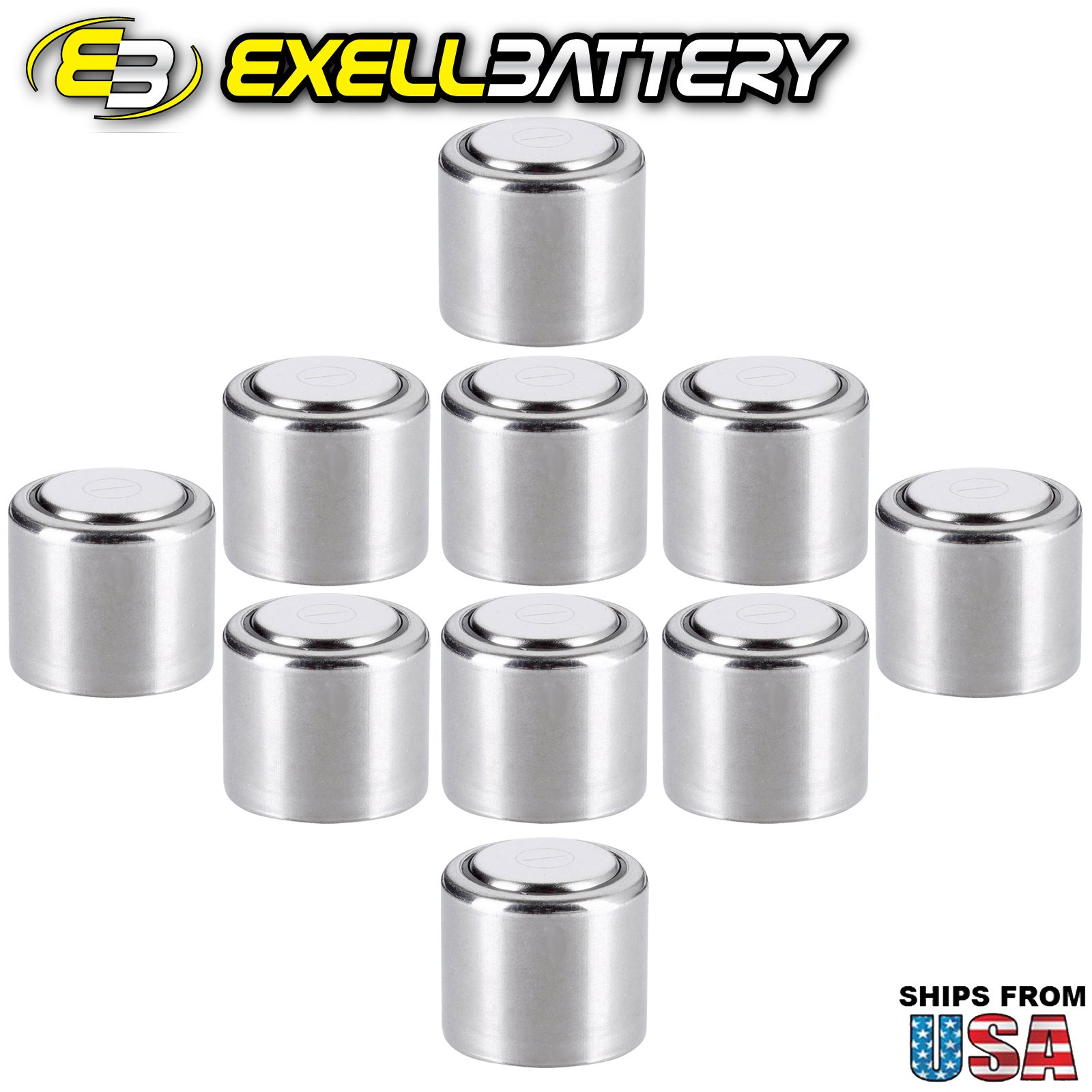10pc Exell CR1/3N 3V Lithium Battery 2L76 K58L DL1/3N CR1/3N