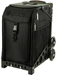 zuca stealth sport insert bag with black non flashing wheels frame - Zuca Frame