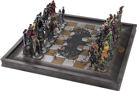 Batman e Joker Figure Scacchi Chess Collection Dc Comics Come Da Foto in Scatola