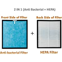 SToK 2 in 1 HEPA + Anti Bacterial Replacement Filter Set for Air Purifier