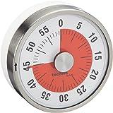 Technoline KZW Timer analogique courte durée en métal