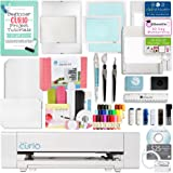 Silhouette America Curio Crafting Machine with Large Base, Vinyl Kit, Deep Cut Blade, Premium Blade, Etching, Tools, and More!