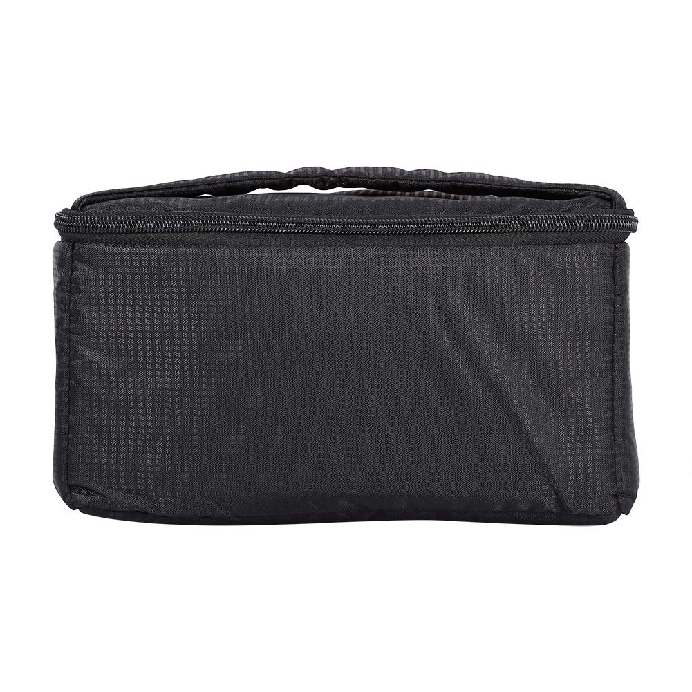 Madezz Portable Overlap Zipper Padded Bag Pouch W/Carry Strap BT for DSLR Camera Lens by Madezz