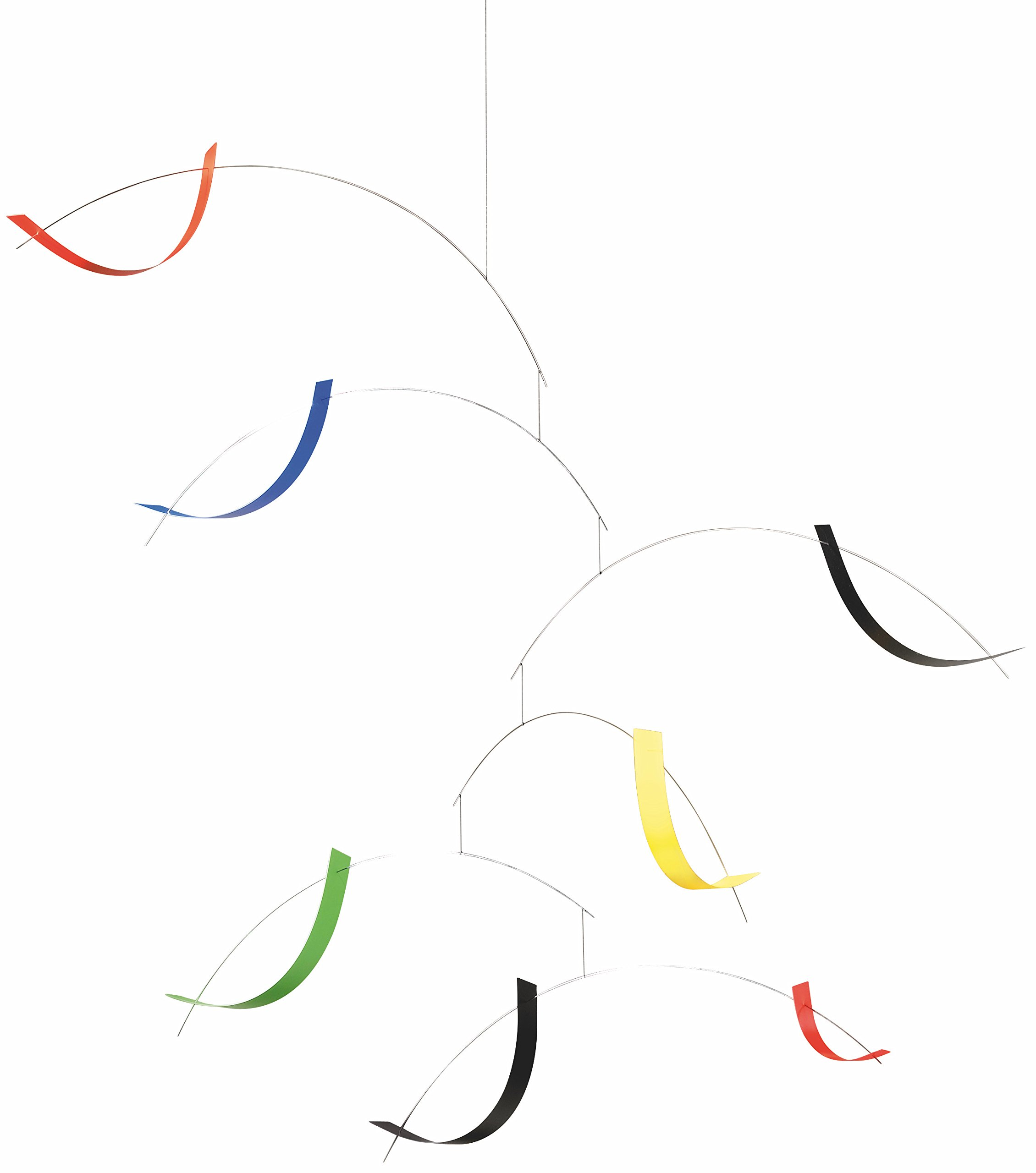 Flensted Mobiles Breeze Hanging Mobile - 30 Inches Plastic