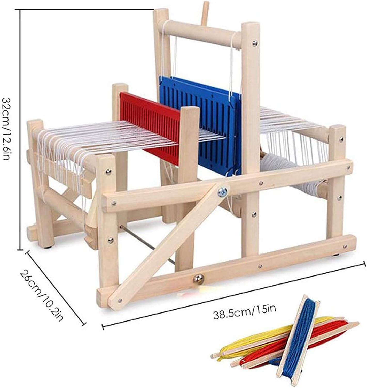 Weberei Weaving Machine Multifunktions-Webstuhl Birken-Webstoff-Tapisserei-Maschine Handgewebtes DIY-Kit