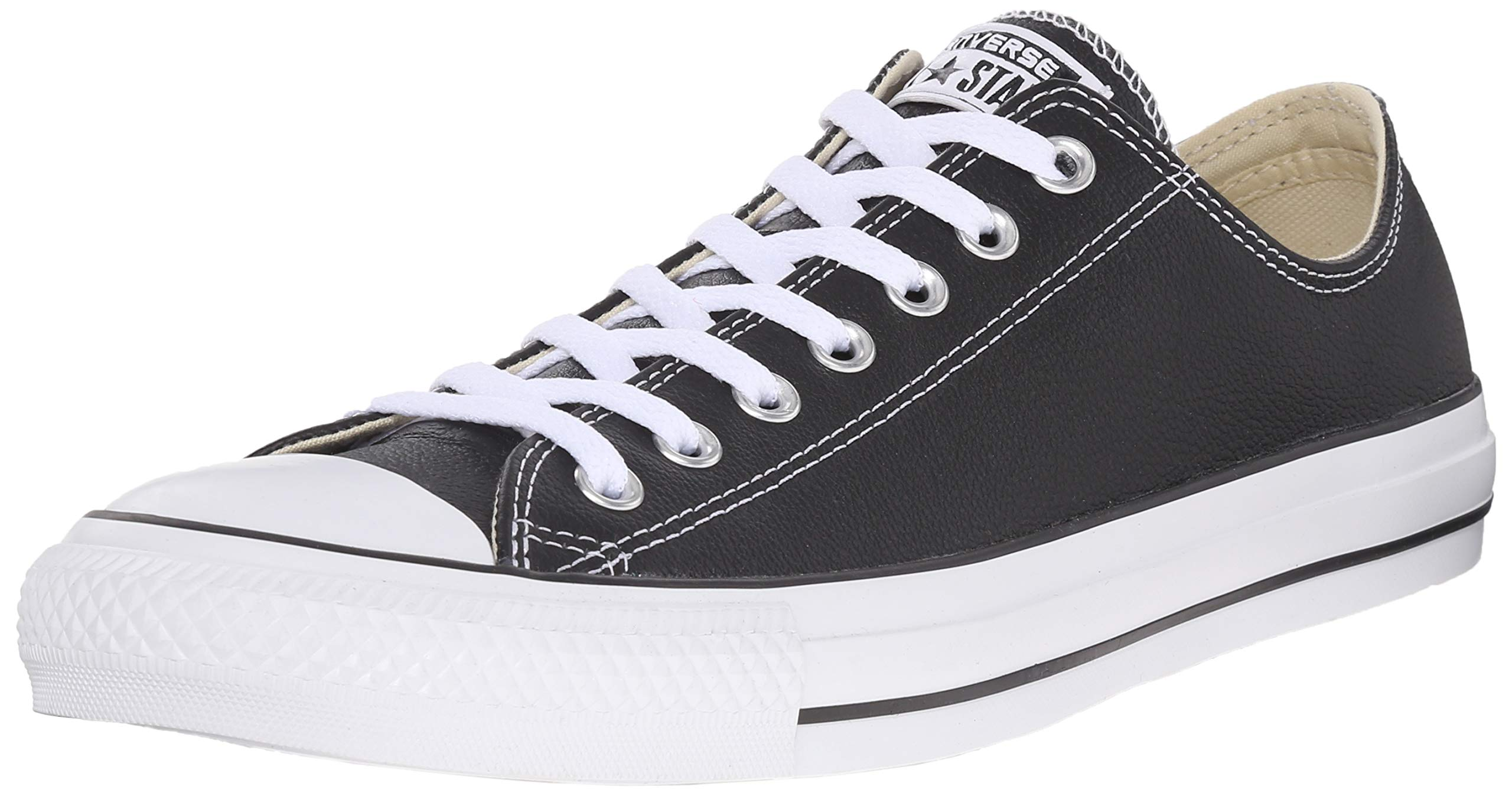 the latest 23b2f a32dc Galleon - Converse Chucks All Star Ox Sneaker Black M9166C, Size 39.5