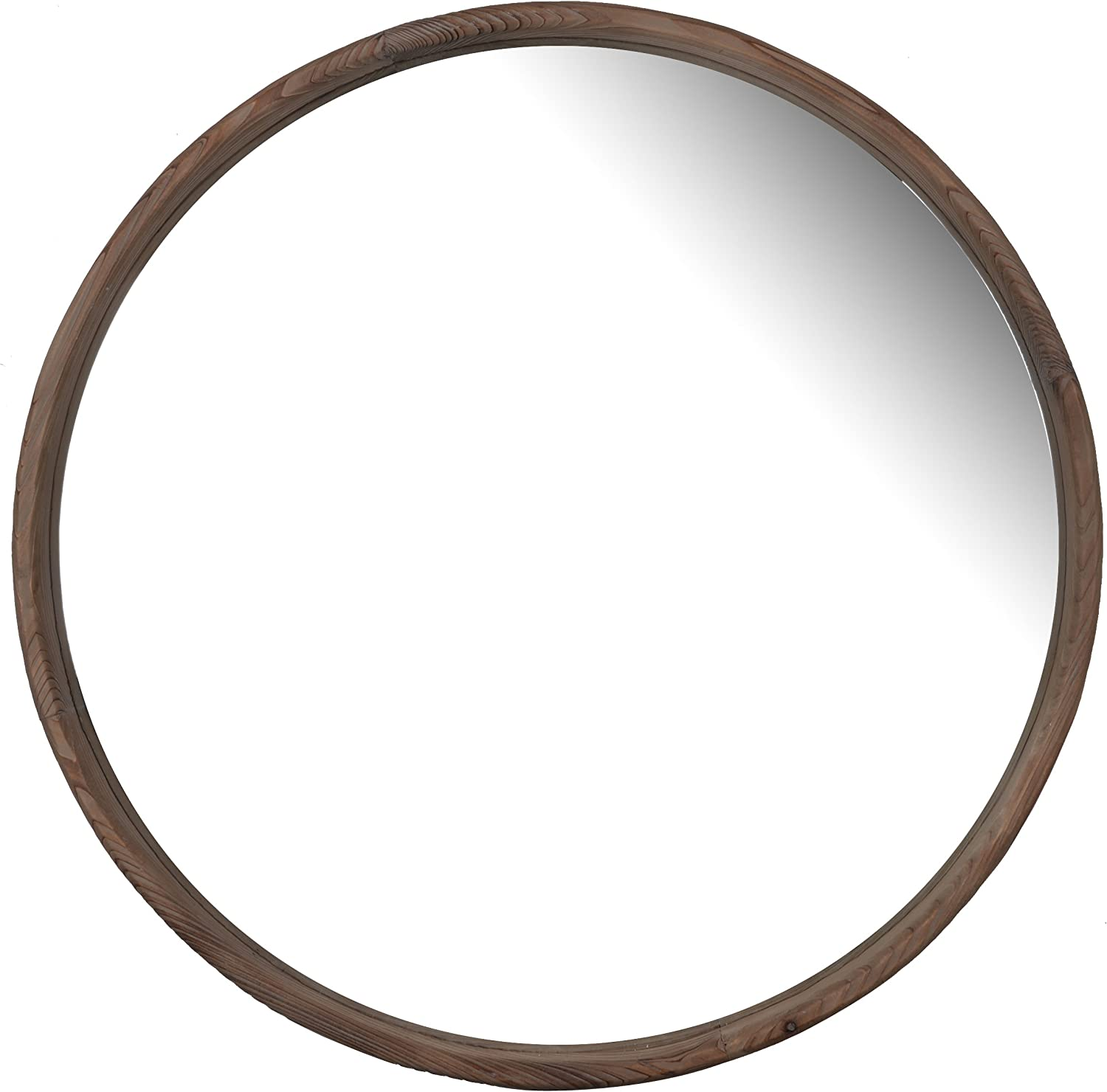 A&B Home Thayne Round Wall Mirror, 27.5 by 2-Inch