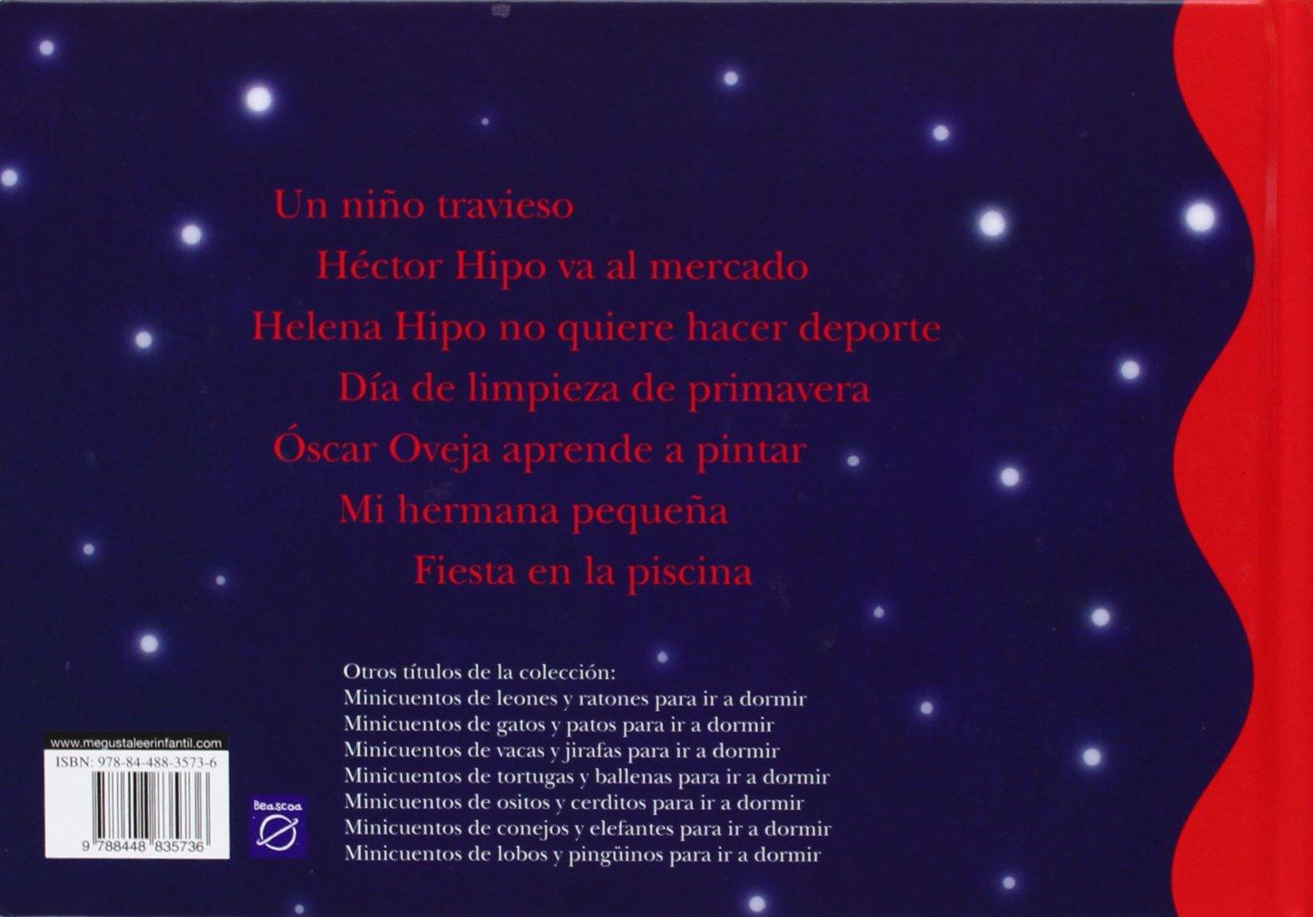 Minicuentos de hipopótamos y ovejas para ir a dormir / Minicuentos Of Hippos and Sheep To go to sleep (Spanish Edition): Magela Ronda, Ana Zurita Jimenez: ...