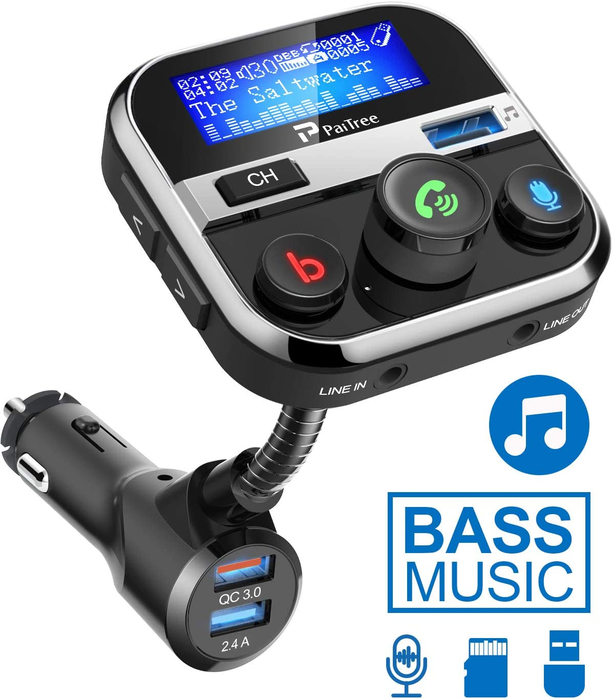 Amazon coupon code for Bluetooth FM Transmitter for Car