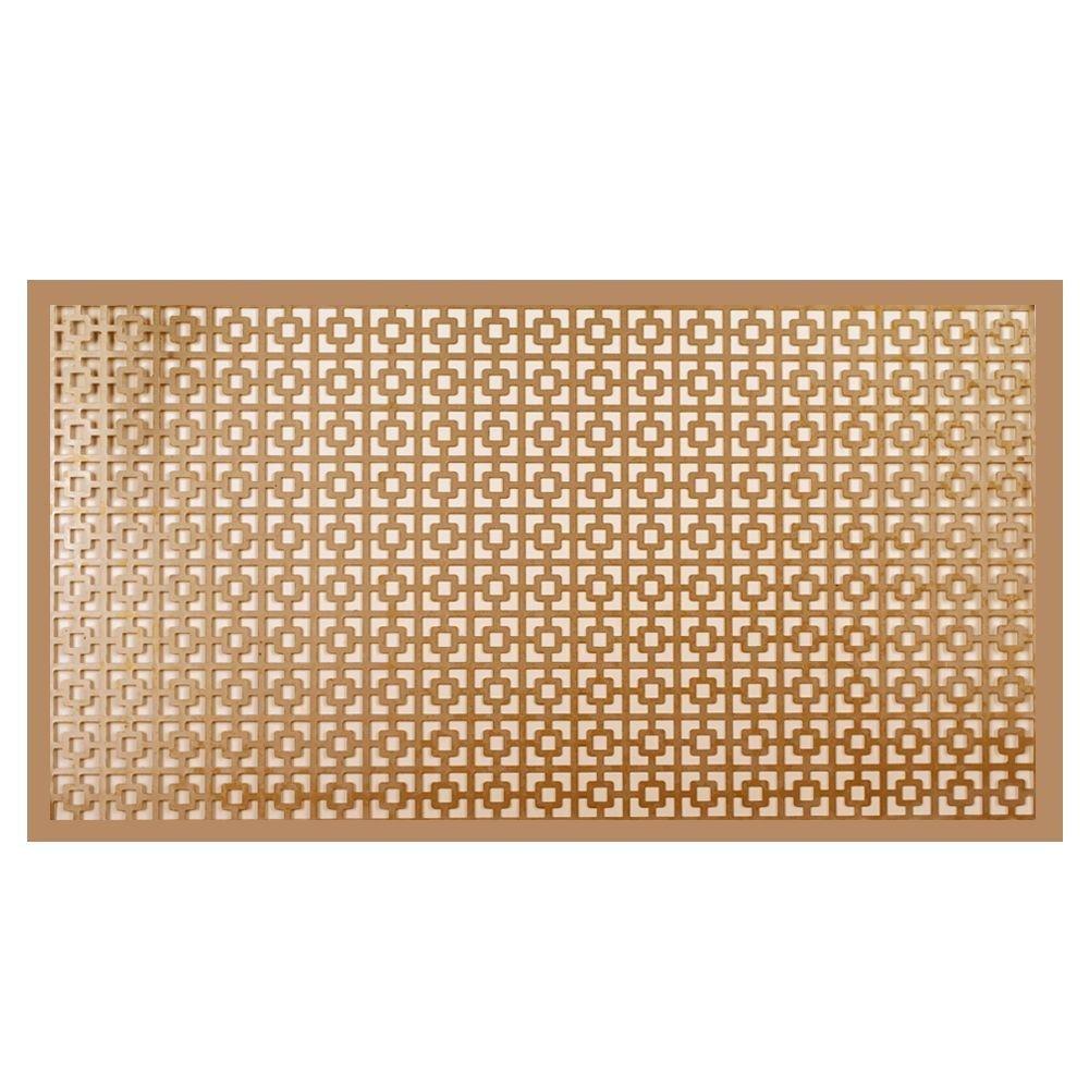 """M-D Building Products 57527 Alum Sheet Chainlink 12"""" x 24"""" x 0.019"""" Copper"""