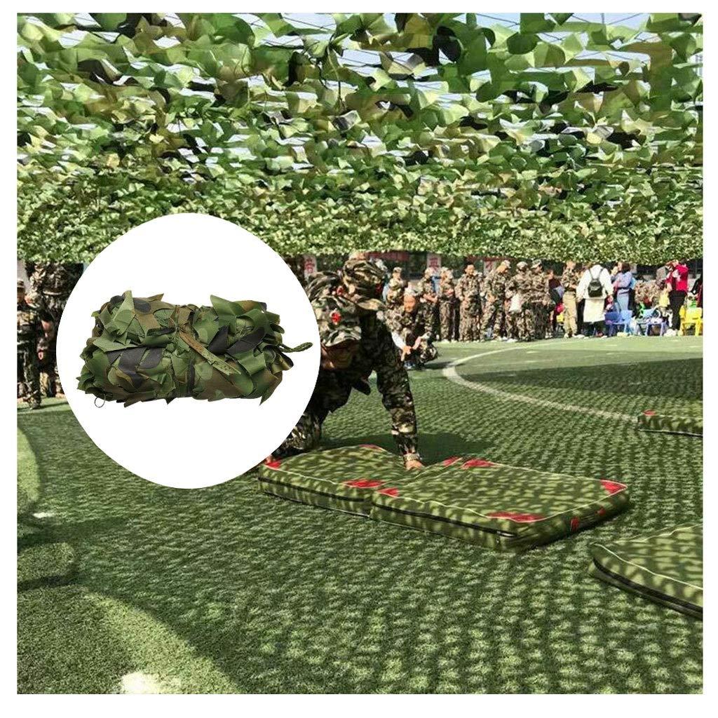 420M Filet De Camouflage,Camo Net Filet D'ombrage 4x8m écran Solaire Filet Tente Oxford En Tissu For Les Jeux For Enfants Chasse De Tir Ombre Camo Cover Net For Camping Chasse Tournage Jungle Décor Vert