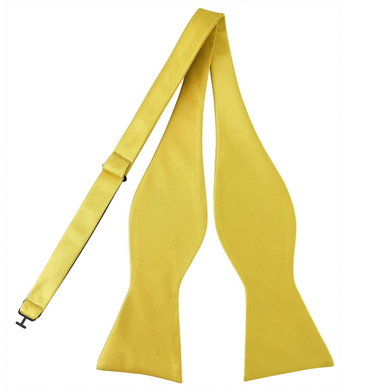 GUUNIEE - Pajarita - para hombre Amarillo amarillo Medium: Amazon ...
