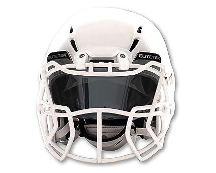 0d3599257 EliteTek Football & Lacrosse Eye-Shield Visor (Smoke Tinted)