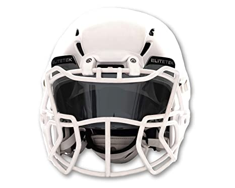 e1c0a3757e4 Amazon.com   EliteTek Football   Lacrosse Eye-Shield Visor (Smoke ...