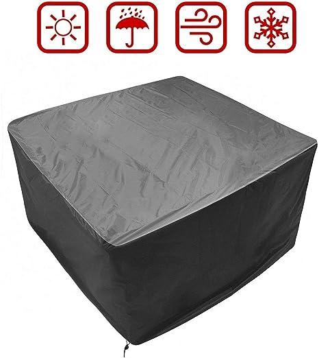 Schutzhülle Stühle Stuhl 6 Stapelsessel Abdeckung Abedeckhaube Gartenmöbel Plane
