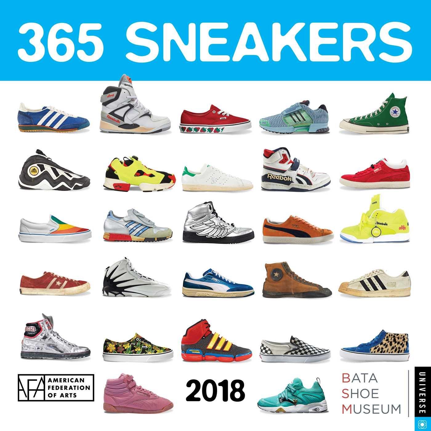 Buy 365 Sneakers 2018 Wall Calendar