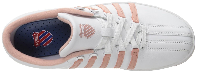 K-Swiss Women's 8 Classic '88 Fashion Sneaker B01LW2E2C6 8 Women's B(M) US|White/Cameo Brown ef470d