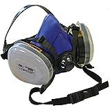 Scan PPERESPP2 Twin Half Mask Respirator Plus P2 Dust Filter Cartridges