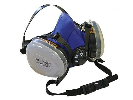 Scan - Twin Half Mask Respirator + P2 Dust Filter Cartridges