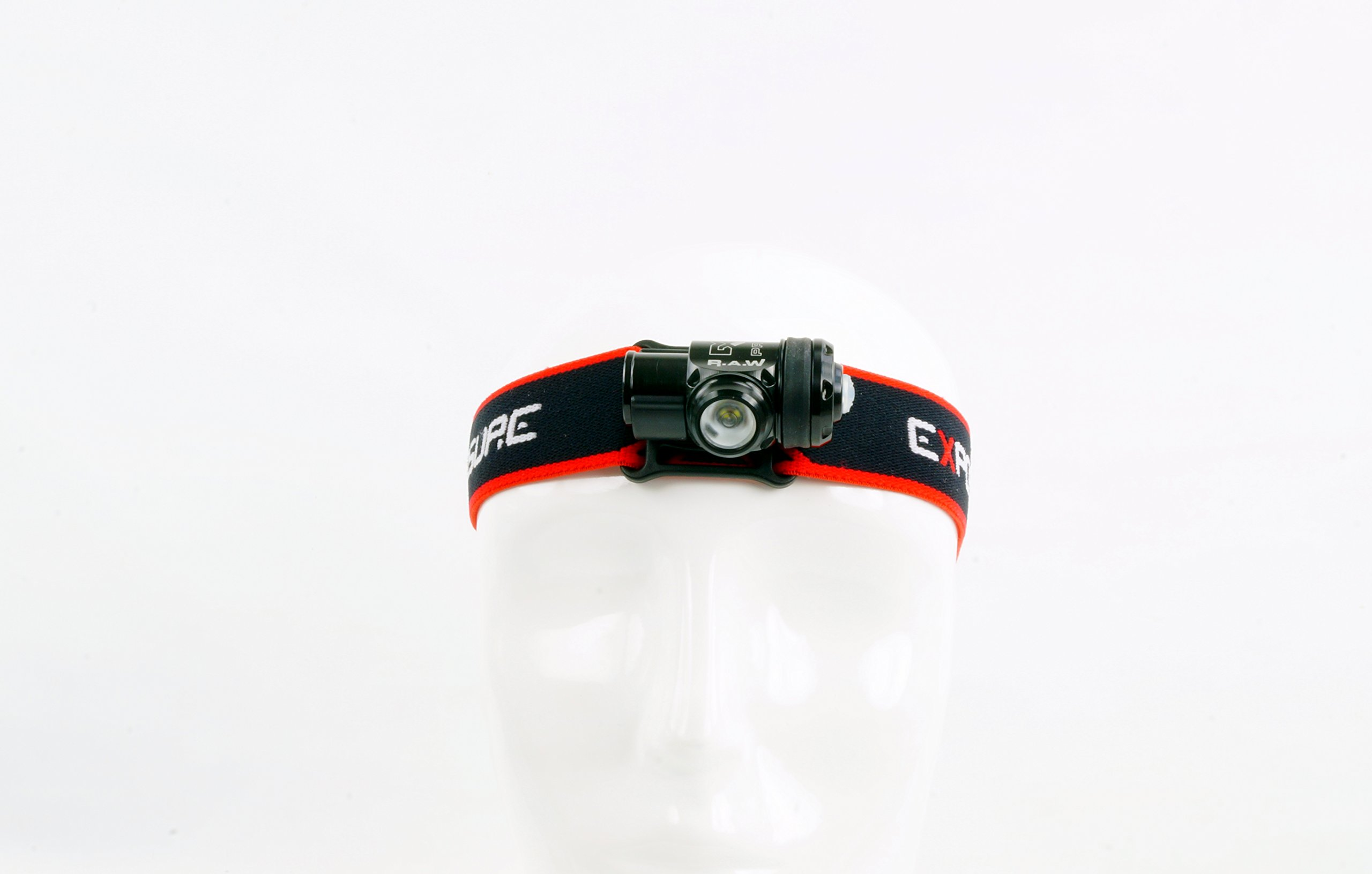Exposure Lights R.A.W. PRO Edition 200 Lumen Red & White waterproof head Torch Made In Great Britain by Exposure Lights (Image #3)