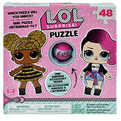 License 48 Pieces Girls Puzzle with Suprise Accessory Inside (+5 Years) 2020: Toys & Games