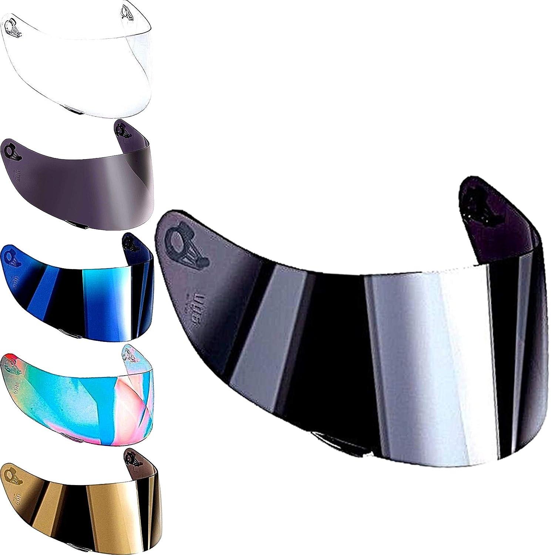 Agv Helmet Visor K1 K5 K5s K3 sv S4-sv Horizon Skyline Stealth-Sv Helmets Visors Iridium Rainbow Gold Blue Mirror Clear Aftermarket Not Original Light Fume