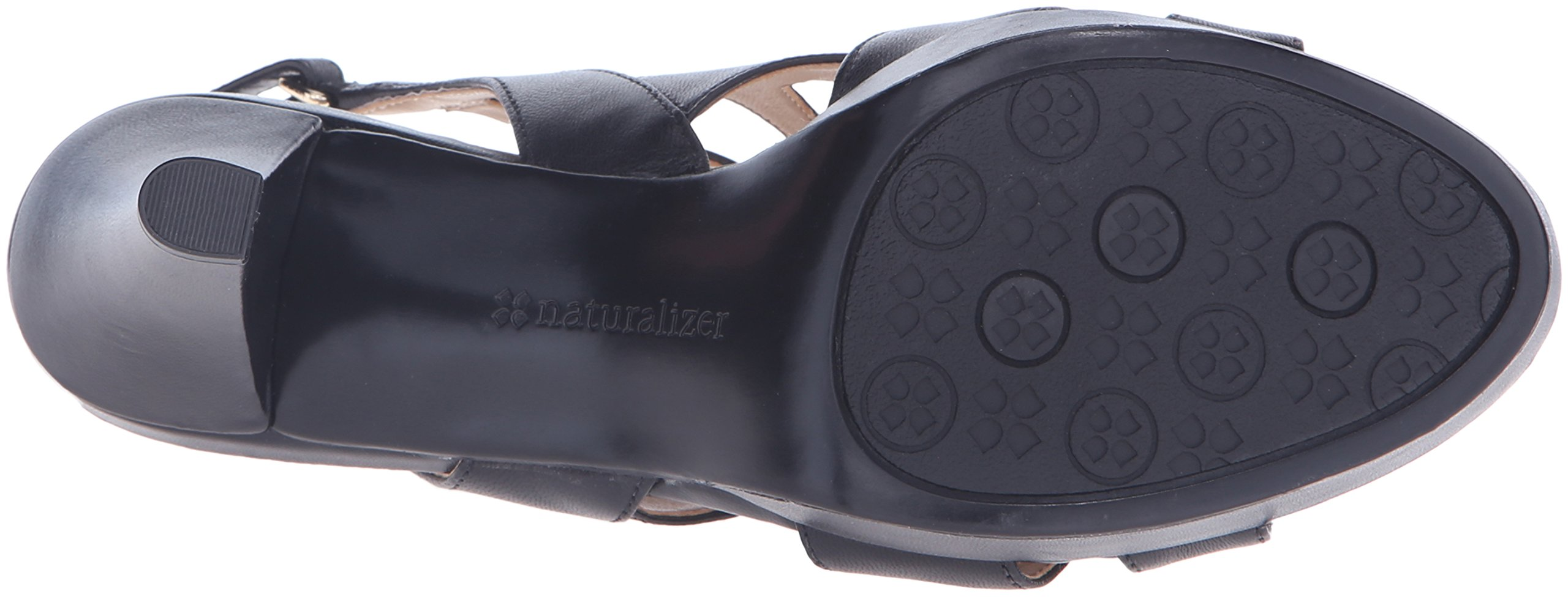 Naturalizer Women's Pressley Platform Dress Sandal, Black, 7 W US by Naturalizer (Image #3)