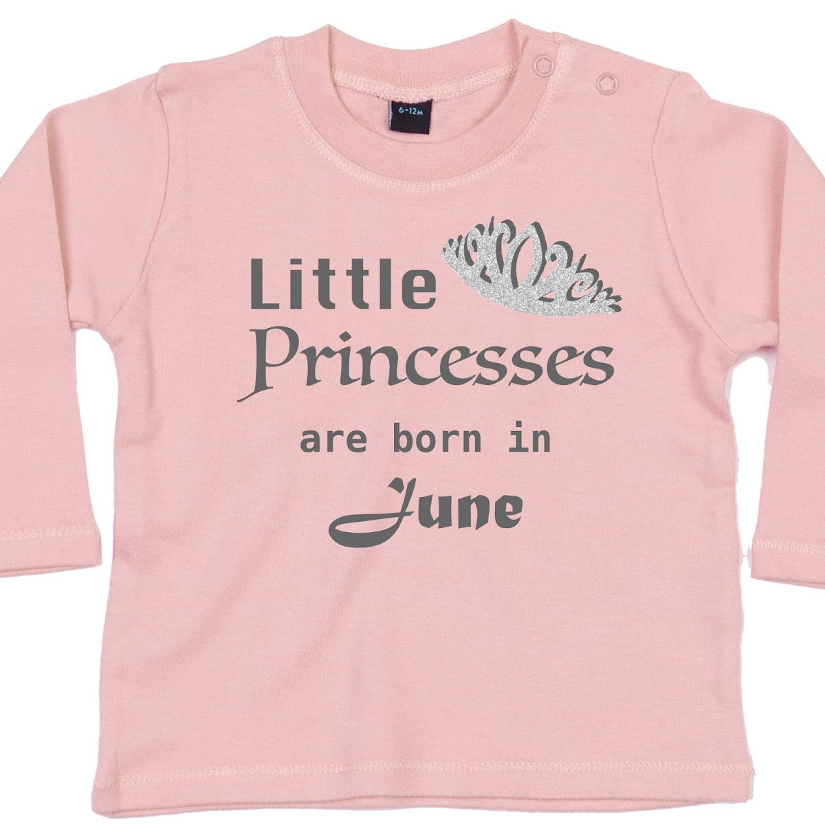 Little Princesses are Born in - Funny Baby T-Shirts