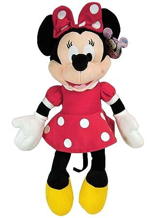 Amazon Disney Plush Classic Minnie Mouse Red Polka Dot Dress 15