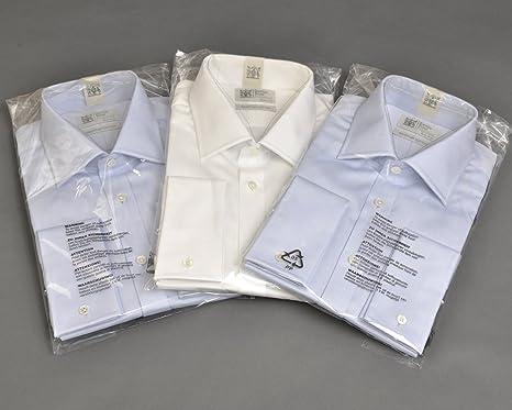 Bolsa de plástico transparente de polietileno para camisas, resellables (50 unidades, varios tamaños), 12