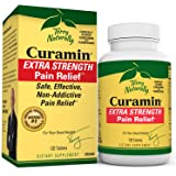 Terry Naturally Curamin Extra Strength - 120 Vegan Tablets - Non-Addictive Pain Relief Supplement with Curcumin from…
