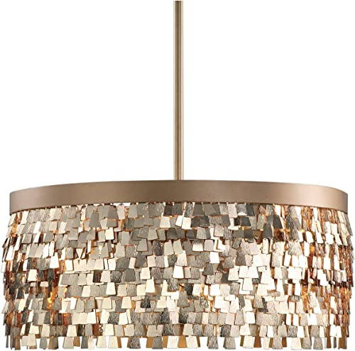 Uttermost 22064 Tillie 3 Light Textured Pendant