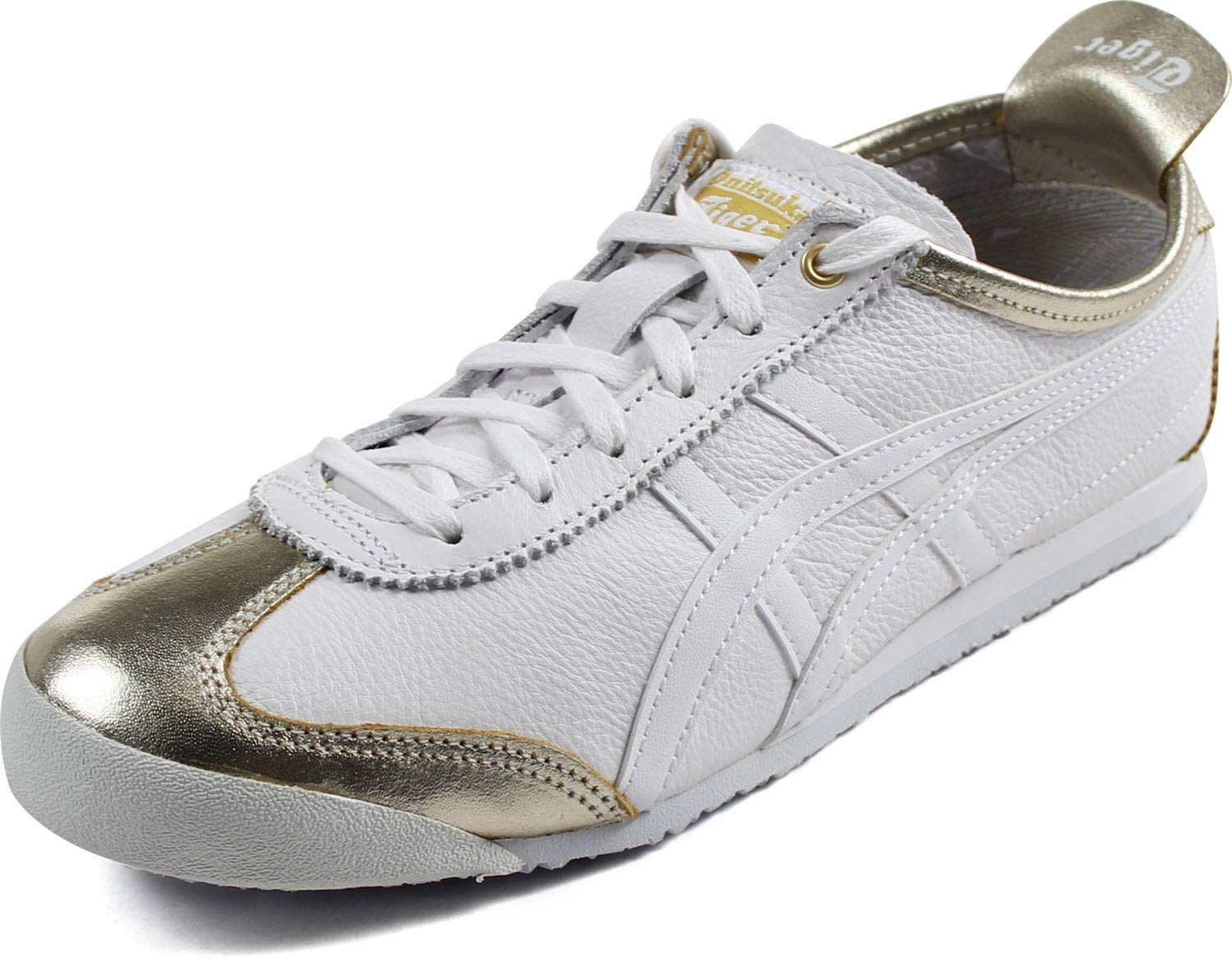 promo code e638d d3747 Onitsuka Tiger by Asics Unisex Mexico 66 Lich Gold/White 12 ...