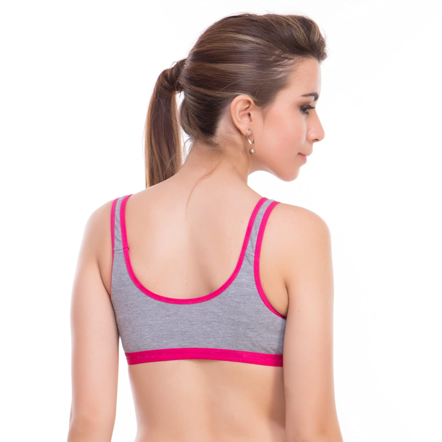 a1cbac76b Bodylable cotton mix Women Lingeries set pack of 3 in Multicolor   Amazon.in  Clothing   Accessories