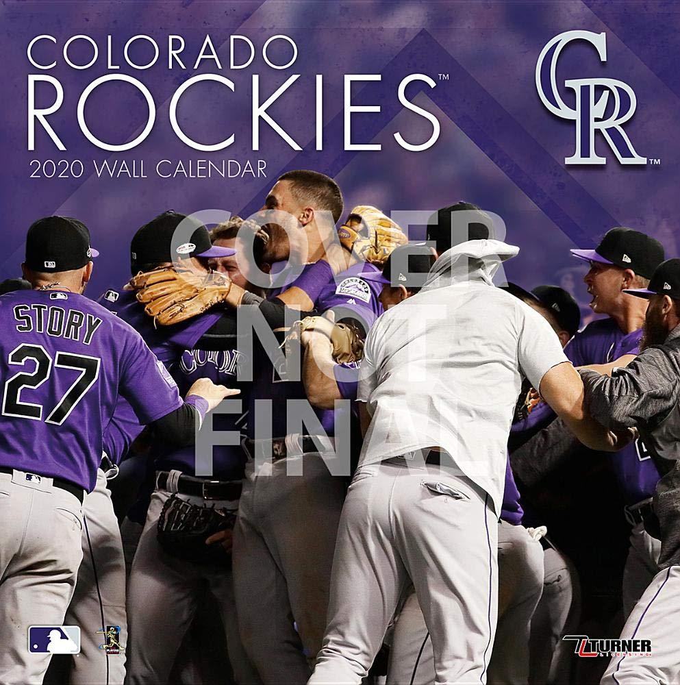 Rockies Home Opener 2020.Colorado Rockies 2020 Calendar Inc Lang Companies