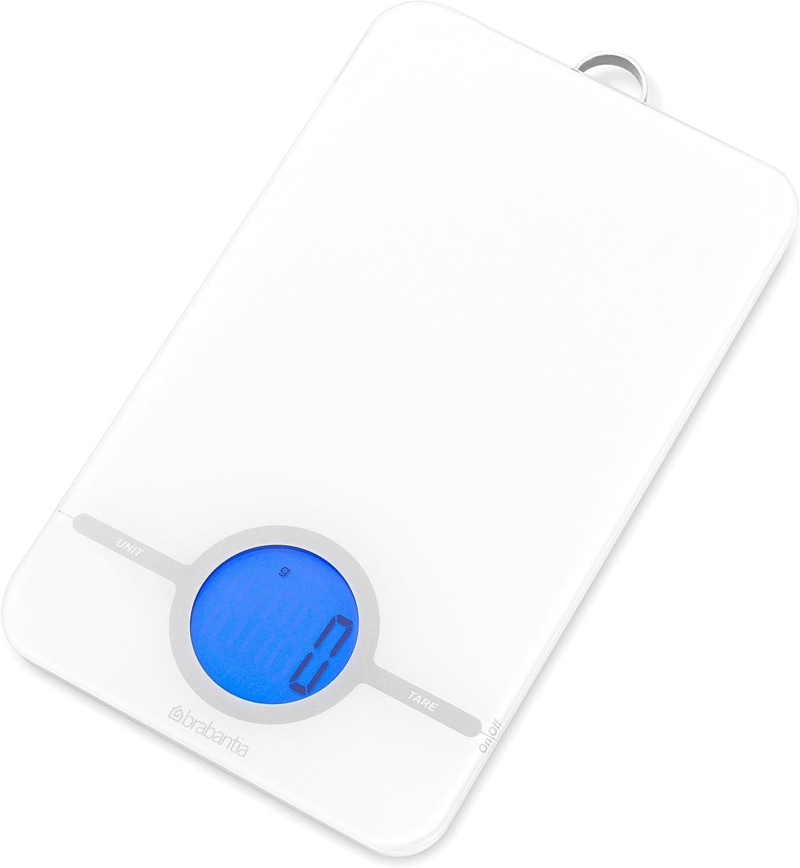 Soehnle Bilancia Elettronica da Cucina in Vetro Style 1Gr Max 5Kg Silver